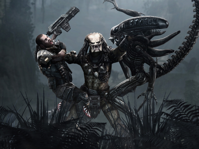 Alien Vs Predator 壁紙画像