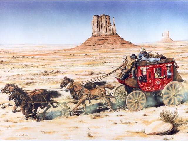 American West 壁紙画像