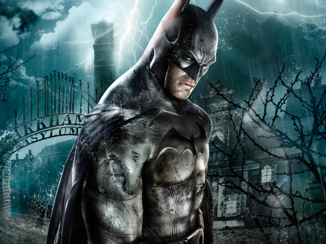 Arkham Video Game 壁紙画像