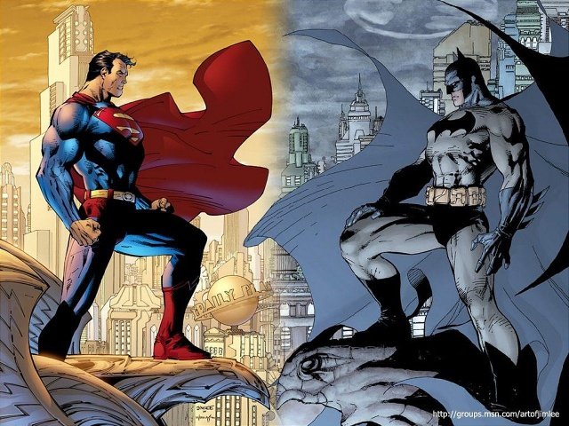 Batman And Superman 壁紙画像