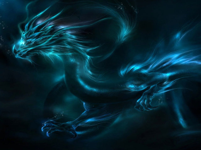 Blue Dragon 壁紙画像