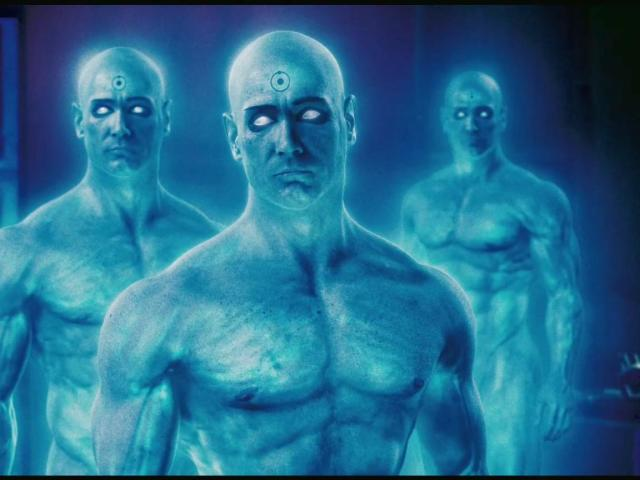 Dr. Manhattan The Watchmen 壁紙画像