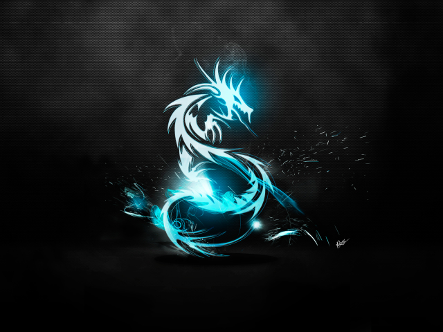 Dragon Logo 壁紙画像