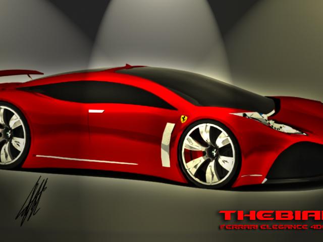 Ferrari Elegance 壁紙画像