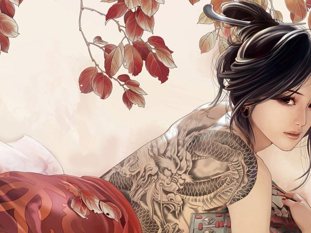 Girl With The Dragon Tattoo 壁紙画像