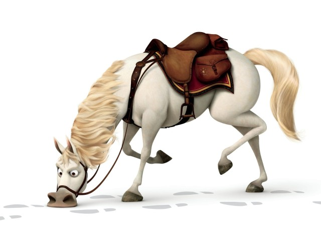 Horse From Tangled 壁紙画像