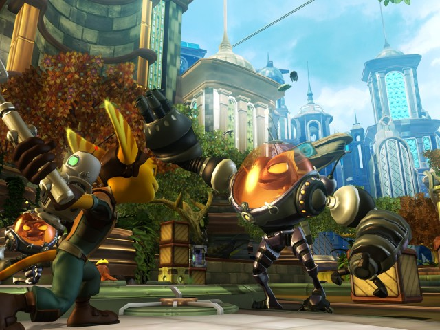 Ratchet And Clank 壁紙画像