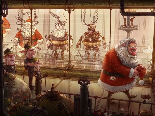 Santa Replacements 壁紙画像