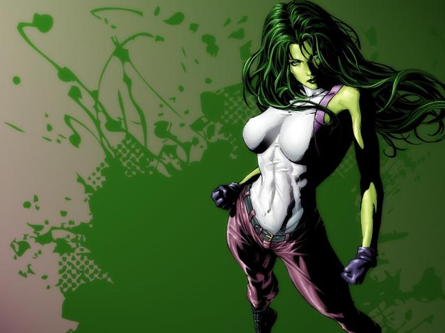Sexy She Hulk 壁紙画像