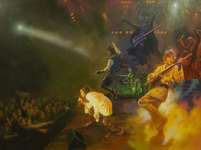 Star Wars Rock Band 壁紙画像