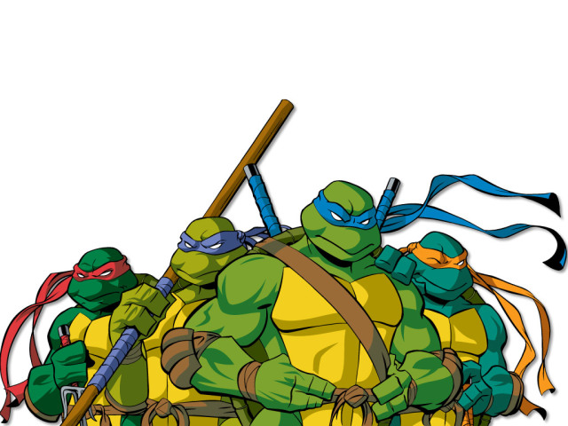 Teenage Mutant Ninja Turtles 壁紙画像