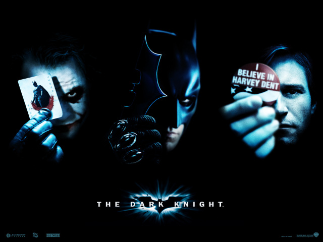 The Dark Knight Movie Poster 壁紙画像