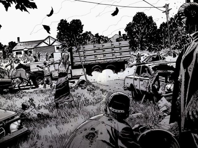 Walking Dead 壁紙画像