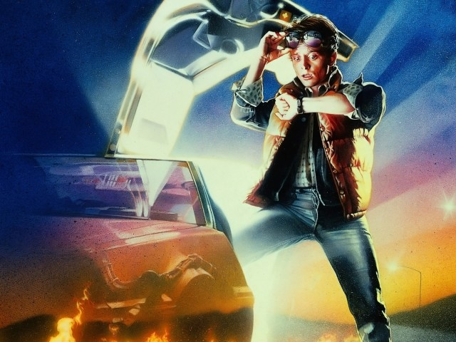 Back To The Future 壁紙画像
