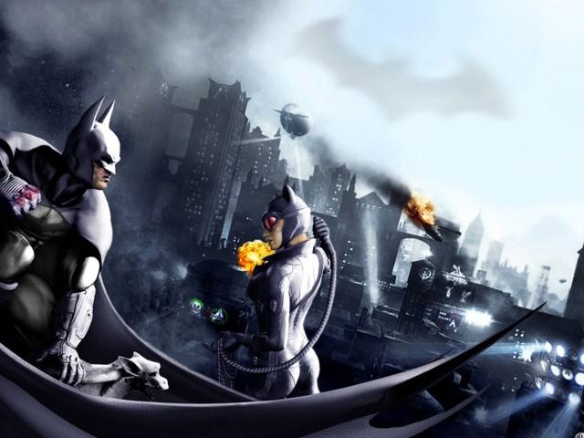 Batman & Catwoman 壁紙画像