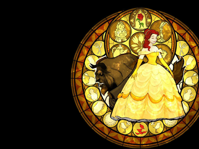 Beauty And The Beast 壁紙画像