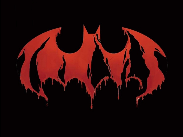Bloody Batman Logo 壁紙画像