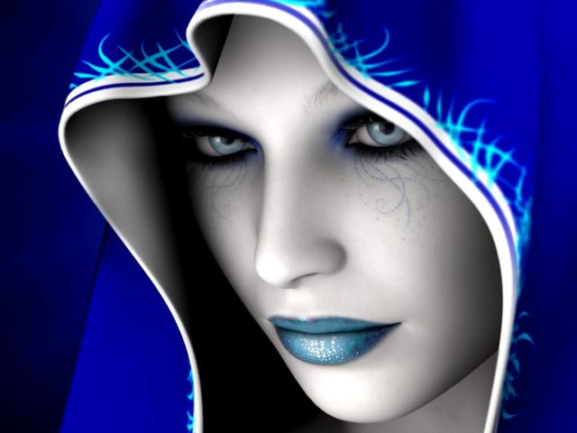 Blue Mood 壁紙画像