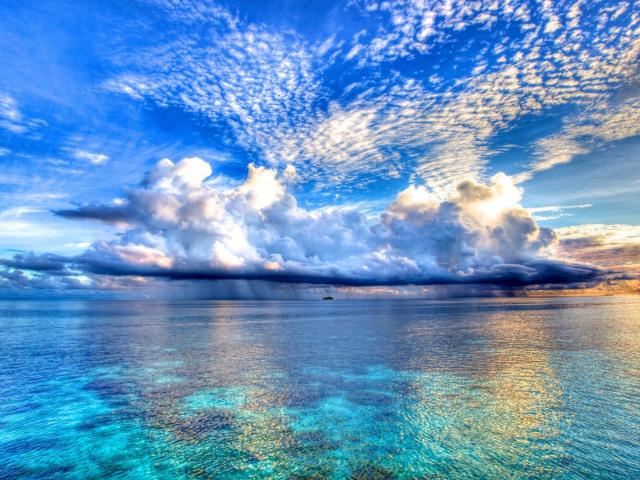 Blue Skies 壁紙画像