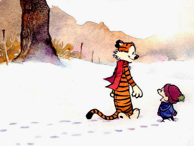 Calvin And Hobbes 壁紙画像