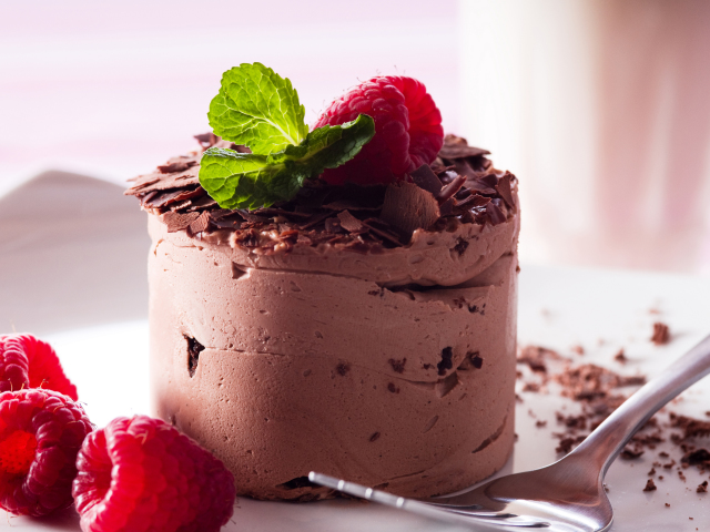 Chocolate Mousse 壁紙画像