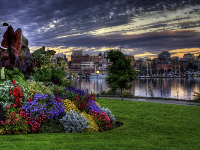 City Of Gardens 壁紙画像