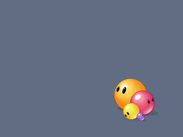 Colored Balls 壁紙画像