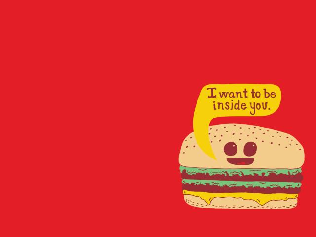 Creepy Burger 壁紙画像
