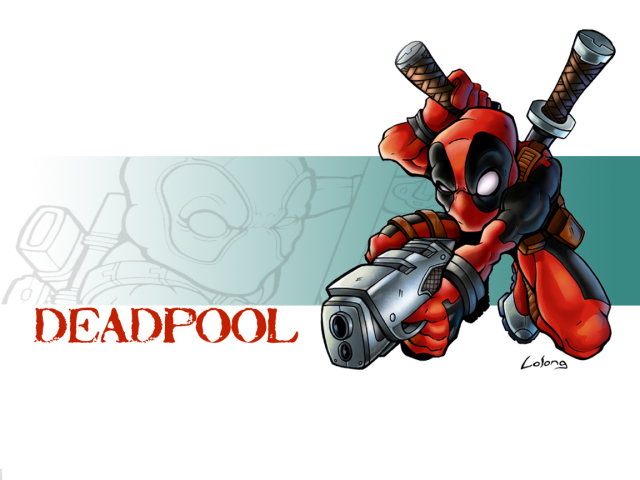 Deadpool With A Gun 壁紙画像