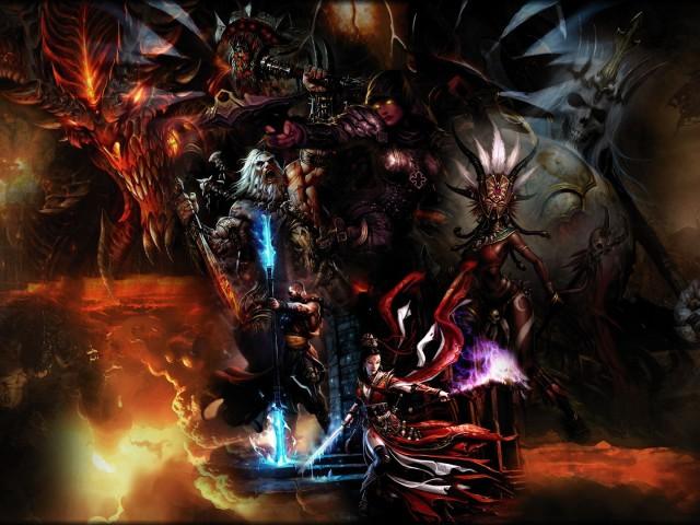 Diablo 壁紙画像