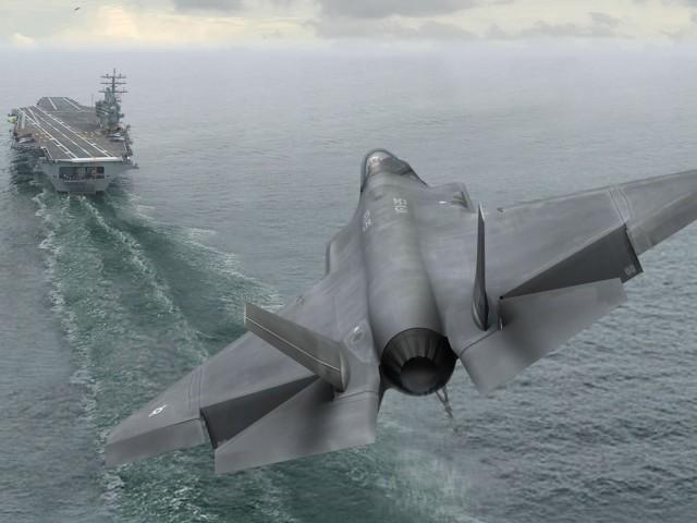 F35 Landing 壁紙画像