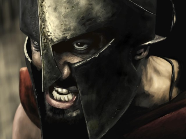 Gerald Butler On 300 壁紙画像