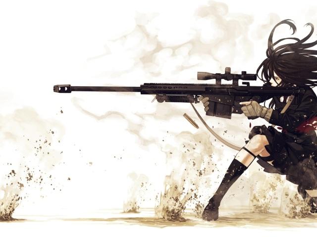 Girl Sniper 壁紙画像
