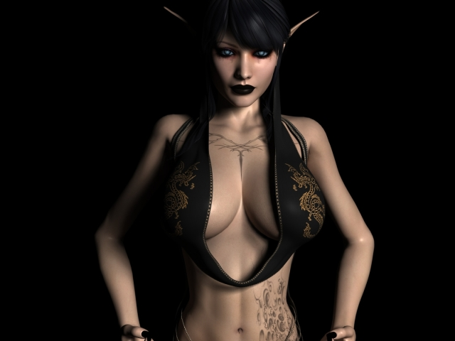 Gothic Elf 壁紙画像