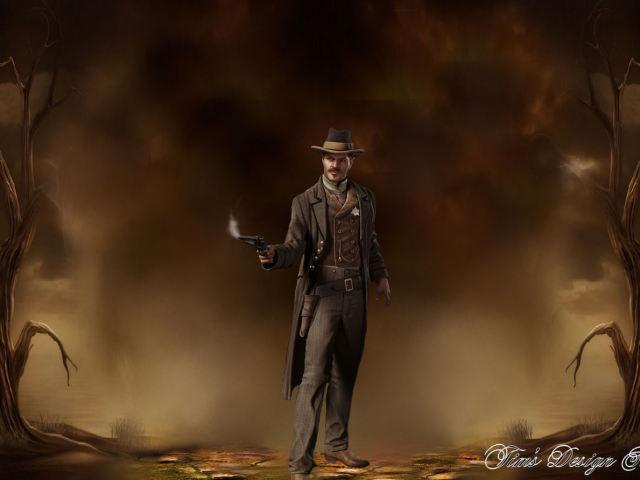 Gun Smoke 壁紙画像