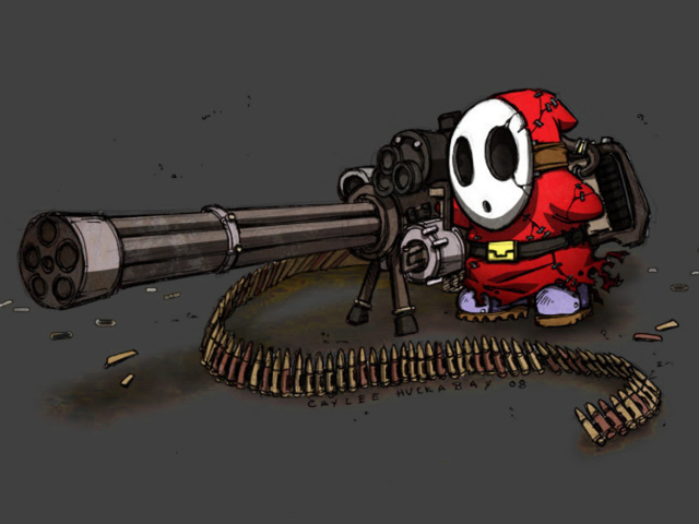 Gun Video Game 壁紙画像