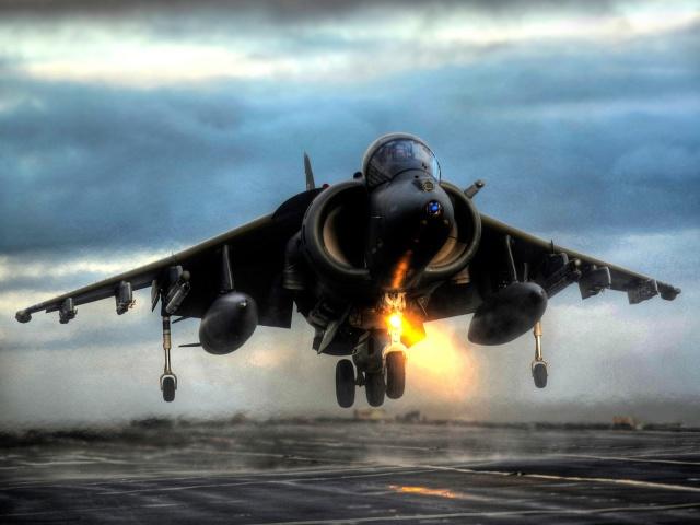 Harrier Vertical Takeoff 壁紙画像