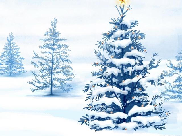休日のクリスマス壁紙画像