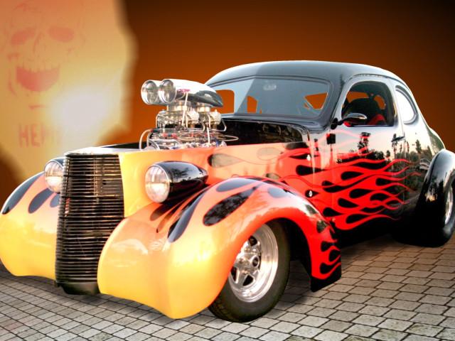 Hot Rod 壁紙画像