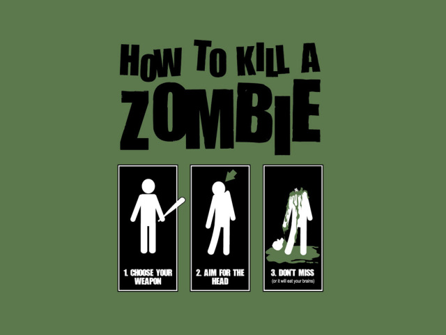 How To Kill A Zombie 壁紙画像
