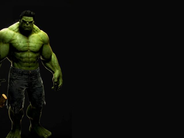 Imposing Hulk 壁紙画像