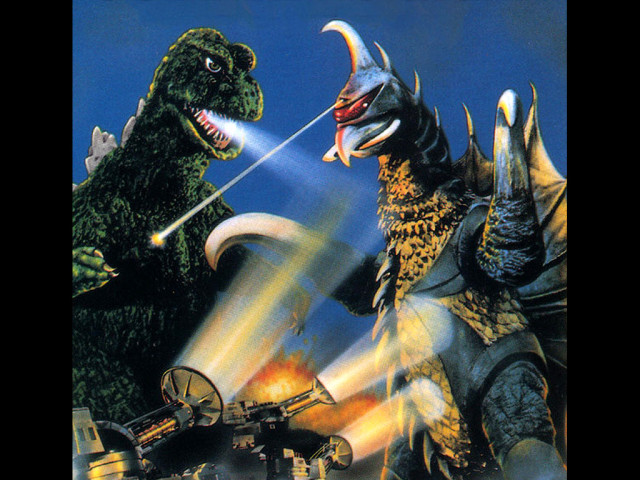 Japanese Godzilla Poster 壁紙画像