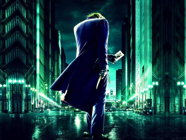 Joker On The Street 壁紙画像