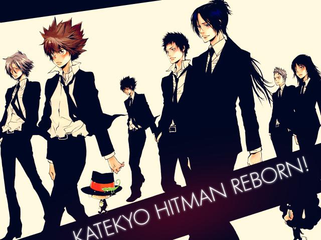 Katekyo Hitman Reborn! 壁紙画像