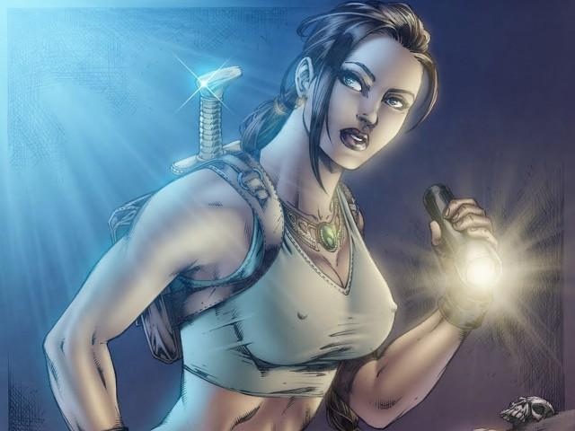 Lara Croft 壁紙画像