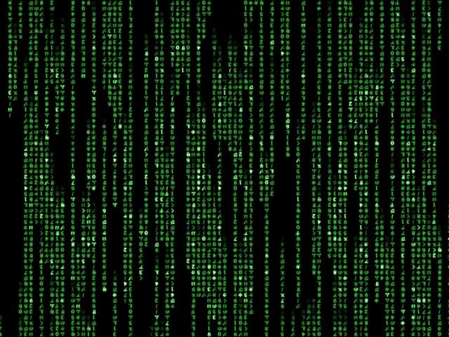 Matrix Code Movie 壁紙画像
