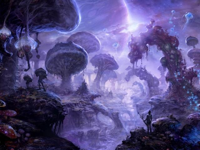 Mushroom Valley 壁紙画像