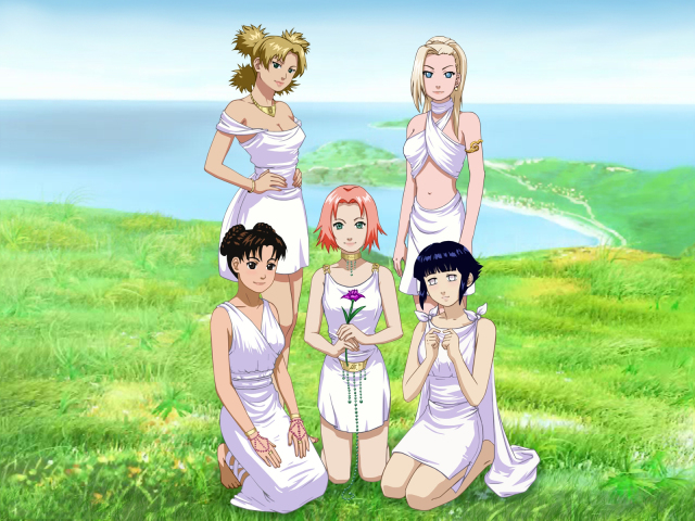 Naruto Ladies 壁紙画像