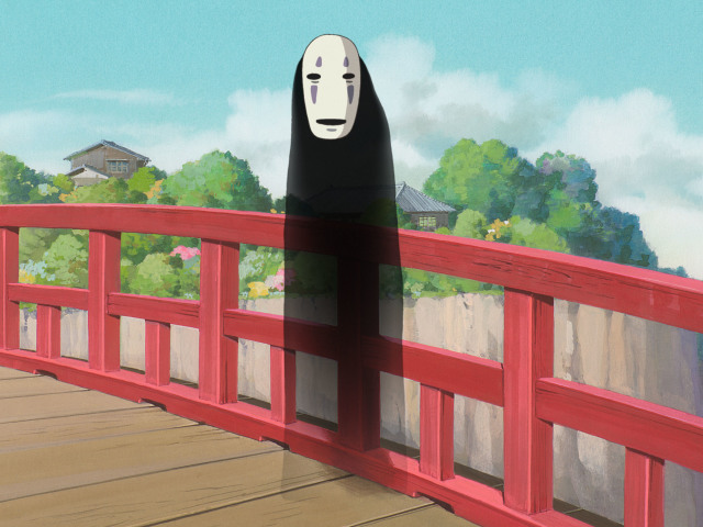 No Face From Spirited Away 壁紙画像