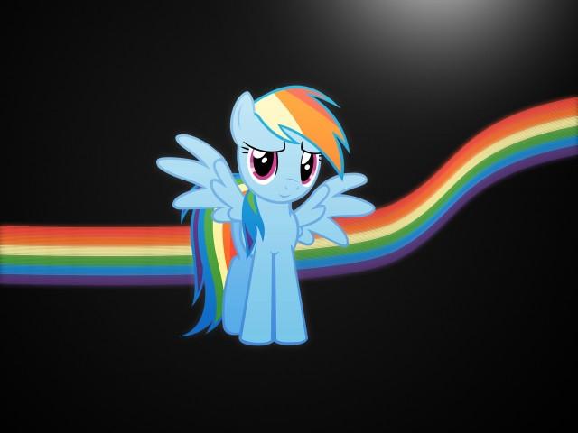 Rainbow Dash 壁紙画像